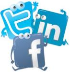 twitter fb and link